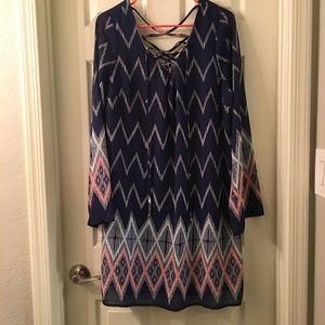 Dresses & Skirts - Target - Xhileration Lace Up Dress, Size XXL